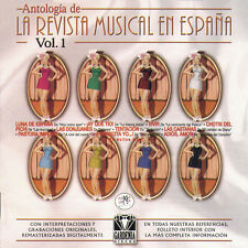 ANTOLOGIA DE LA REVISTA MUSICAL EN ESPAÑA .Vol.1-2CD