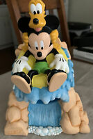 Disney Mickey Mouse and Pluto Splash Mountain Dixie Cup Holder Dispenser Plastic