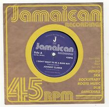 "Johnny Clarke - Don't Want To Be A Rude Boy LTD 7"" NEW £4.99"