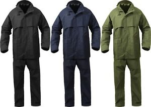 Microlite 2-Piece Rain Suit Lightweight Durable Waterproof Jacket & Pants