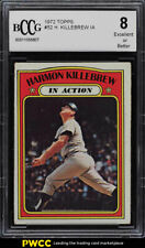 1972 Topps Harmon Killebrew IN ACTION #52 BCCG 8 (PWCC)