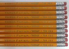 10 Vintage VENUS FORUM - Pressure Proofed - 739 No. 2 Lead Pencils - New/Unused!