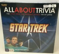 New Star Trek All About Trivia board game The Original Series Collector Edition