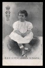 cartolina d'epoca S.A.R. PRINCIPESSA IOLANDA DI SAVOIA