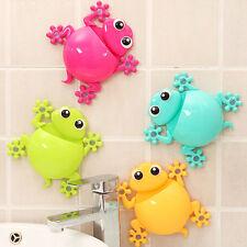 Cartoon Gecko Home Bathroom Holder Toothbrush Wall Mount Sucker Storage Rack 1PC
