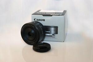 "Canon Ef-M 22mm f2 STM ""Pancake"" Lens for EOS M"