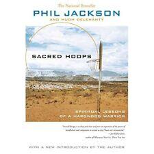 Sacred Hoops: Spiritual Lessons as a Hardwood Warrior - Paperback NEW Jackson, P