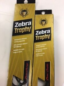 Zebra Trophy Compound Strings, Split Buss or Control Cables (Various)