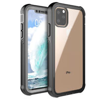 For iPhone 11 Pro Max XS XR 8+ 7 6s Plus SE 2020 Waterproof Full Cover Hard Case