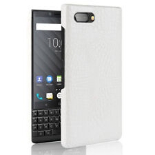 Vintage Croco PU Leather Back Cover Case For Blackberry key2 Priv KeyOne Q20 Q30