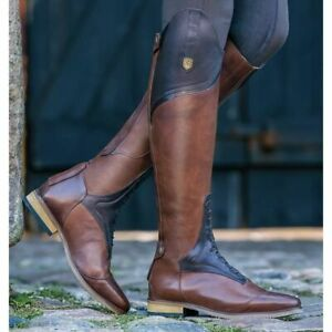 *CLEARANCE* Mountain Horse Sovereign High Rider Boot - Brown UK 4 R/W