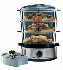 RUSSELL HOBBS Dampfgarer Cook 3 Behälter Reisschale 9L *Exzellent!!!*