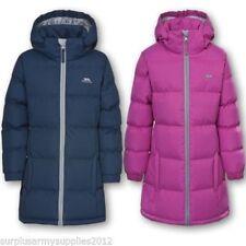 Vêtements rose avec capuche pour fille de 2 à 16 ans Hiver