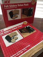 ACE HARDWARE~ Felt Super Sliders 4x7  for Furniture for use on hard floors F4