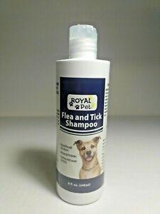 Royal Pet Flea and Tick Shampoo 8 oz for Dogs  ( FREE SHIPPING )