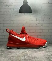 Nike Air Zoom KD 9 843392-611 Flyknit Varsity Red White Size 13