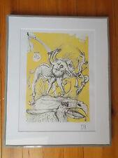 """Lithographie , Salvador Dali , """" Les Contes Drolatiques de Pantagruel """" n° 2"""
