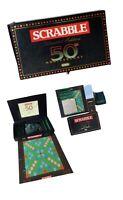 50th Anniversary Limited Edition Scrabble - Mattel - Rare - Spears Games