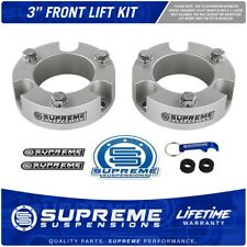 "3"" Front Leveling Lift Kit For 2003-2020 Toyota Tacoma 4Runner FJ Cruiser Silver"