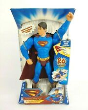 "SUPERMAN RETURNS ULTIMATE POWERS SUPERMAN 12"" FIGURE +12 SOUNDS DC MATEL"