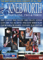 Live at Knebworth: Parts 1, 2 and 3 DVD (2016) Pink Floyd cert E 2 discs