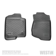 Black Profile Floor Liners Front Row For Chevrolet/GMC Colorado/Canyon 2015-2019