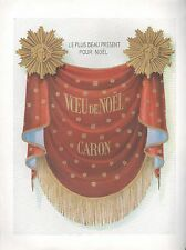 ▬► PUBLICITE ADVERTISING AD PARFUM PERFUME Voeu de Noël de CARON