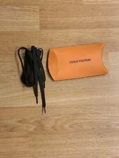 LOUIS VUITTON shoe Boot laces 126 Cm Black NEW !!!