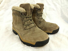 Sorel Sz 8 Mukluks, Beige Suede Insulated Winter Boots, Thermal Shoes