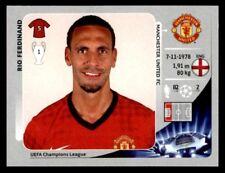 Panini Champions League 2012-2013 Rio Ferdinand Manchester United FC No. 519