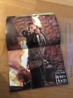 ROBIN HOOD PRINCE OF THIEVES Japanese RARE Film Souvenir PROGRAMME Kevin COSTNER