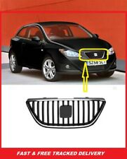 SEAT IBIZA 2008 - 2012 FRONT GRILLE  BRAND NEW 6J08536519 WITH CHROME