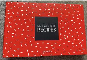 Gousto Recipe Card Folder Brand New