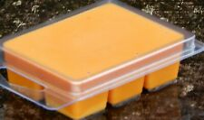 6pk 100hr ORANGE ZEST & CLOVE Spicy Christmas Scented ORGANIC SOY WAX CLAM MELTS