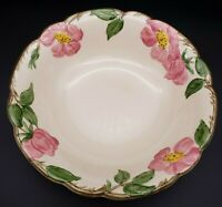 "8"" Franciscan DESERT ROSE Round Vegetable Bowl Made in USA"
