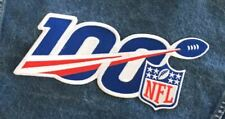 """NATIONAL FOOTBALL LEAGUE 100TH ANNIVERSARY NFL PATCH 10"""" XLG STYLE 2019 SEASON"""