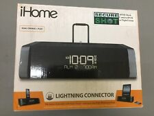 iHome Dual Charge + Play LIGHTNING CONNECTOR IPOD DOCK CAMERA/DVR W/ NIGHT VISIO