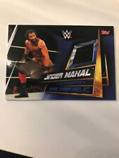 Topps WWE Slam Attax Universe Jinder Mahal Steel Chair Relic Card 1:9881 Packs!