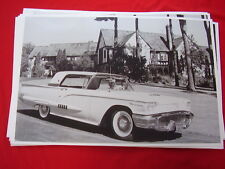 1958 FORD THUNDERBIRD  COUPE  11 X 17  PHOTO   PICTURE