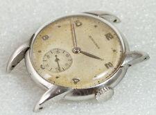 raro LONGINES vintage REF.5813 Cal.12.68z from 1948 Estratto archivio Acier inox