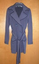 Pre-owned womens gray pea coat by L.A kitty size Small