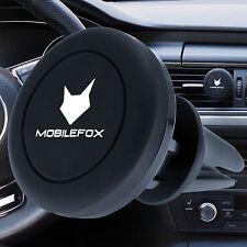 Mobilefox 360° Magnet Lüftungs Halterung KFZ Auto iPhone 7/6S/6/Plus/SE/5/C/4/S