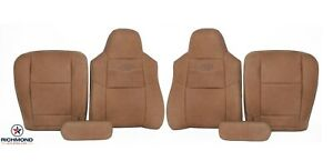 03-07 Ford F250 F350 King Ranch-Driver & Passenger Complete Leather Seat Covers