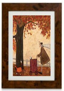 Following the Pumpkin by Sam Toft Framed Print