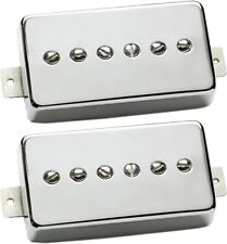 Seymour Duncan SPH90-1 Phat Cat P90 Humbucker-Size Neck/Bridge Pickup Set Nickel