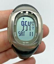 Nike Heart Rate Monitor Imara SM0032 Watch Womens Black HRM New Battery