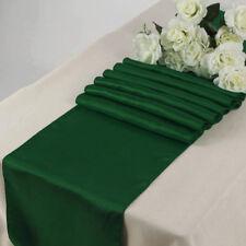 "10/15/20/25/30pcs Satin Table Runner Wedding Banquet Venue decoration 12"" X 108"""