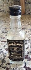 Rare Jack Daniel's Miniature 1/10 Pint 90 Proof/Old No. 7 Glass Whiskey Bottle.