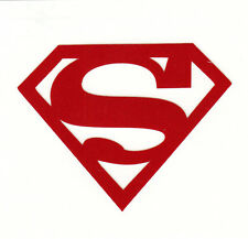 REFLECTIVE Superman Red fire helmet hard hat decal RTIC window sticker
