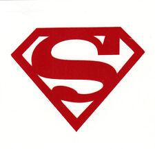 REFLECTIVE Superman Red fire helmet hard hat decal yeti window sticker